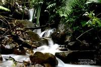 Air Terjun Mini yang banyak terdapat di sepanjang rute Hiking