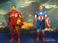 Iron Man dan Captain America