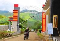 Gerbang utama Agrowisata Kaligua