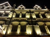 Bangunan tua berderet dengan usia lebih dari 100 tahun