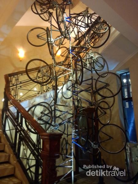 Hiasan sepeda gantung