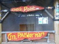 Pos perizinan Gunung Butak menjadi satu dengan pos perizinan Gunung Panderman