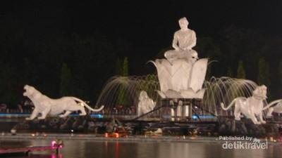 Taman Sri Baduga Purwakarta, Air Mancur Terbesar di Asia Tenggara