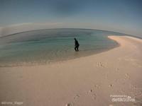 Gusung Lamudaan, gusung ini terletak di depan Pulau Lamudaan. Tidak ada tumbuhan sama sekali. di sekeliling Gusung terdapat hamparan terumbu karang yang indah dan merupakan spot sotong