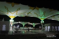 Payung Masjid Raya Baiturrahman Banda Aceh