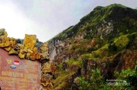 Puncak Gunung Batur 1.717 mdpl