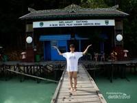 Gerbang masuk Danau Kakaban, kepulauan Derawan