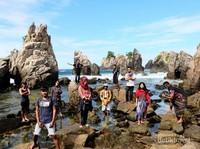 Tim explore Lampung foto bersama, Baim, Anto, Abi, Rony, Gedeleo, Mfajarnugrah, Schode, Jay, Anindita