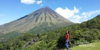 Gunung Inerie di foto dari mana saja tetap cantik dan fotogenic