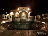 Tempat wudhu di depan Masjidil Aqsa ini telah berumur 600 tahun
