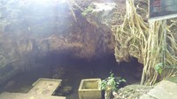 Situs Air Kaca ini merupakan cerukan Mata air alami. Dinamakan Air Kaca karena pada zaman dahulu air disini bening sekali sehingga kita dapat bercermin di air tersebut