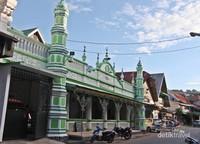 Masjid Muhammadan di kawasan Kota Tua Padang