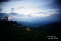 Camping ground area