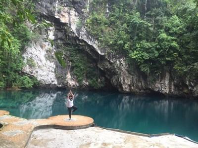 Mengintip Pesona Danau Biru Sultra yang Penuh Mistis