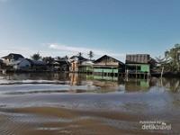 Soto Banjar di tepian sungai Martapura