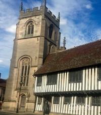 Gedung sekolah tempat Shakespeare menempuh ilmu