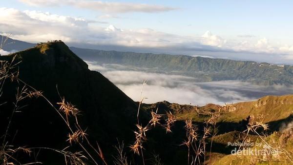 Amazing view , suasana pagi di puncak Batur