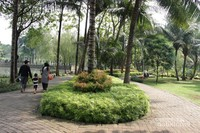 Taman Dadap Merah berlokasi di Jalan Kebagusan Dalam I Jakarta Selatan