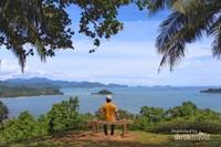 Pesona Gunuang Padang begitu memikat