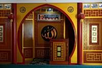 Lantai dasar tempat beribadah jamaah laki-laki