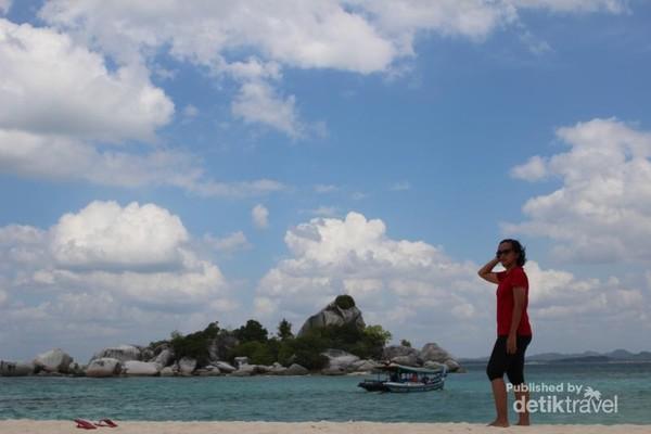 Menikmati keindahan Pulau Lengkuas