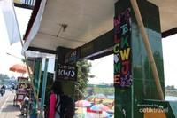 Gerbang masuk kampung wisata Jodipan