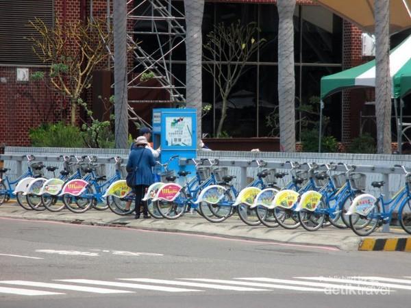Penyewaan sepeda di Kaohsiung