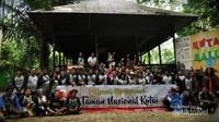 Peserta kemah konservasi Taman Nasional Kutai