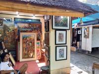 Salah satu sudut pasar seni