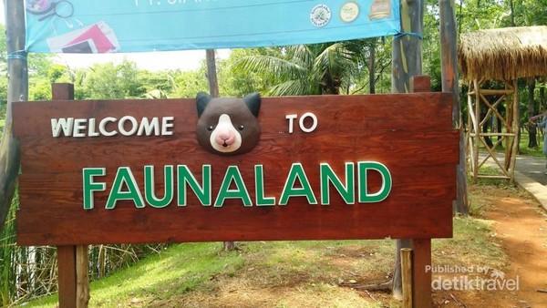 Faunaland, kebun binatang di area Eco Park, Taman Impian Ancol