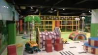 Salah satu spot wahana bermain dream playground di lantai dua