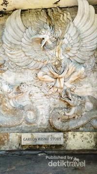 Cerita tentang latar belakang Garuda yang menjadi tunggangan Dewa Whisnu