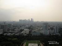 Jakarta dari atas Monas