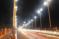 Suasana di Jembatan Siti Nurbaya