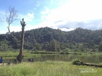 Danau Situ Gunung yang terdapat di tengah2 hutan yang sejuk.