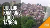 Kampung Manteos Bandung, Mirip Permukiman di Rio de Janeiro?