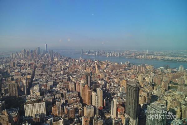 Begitu padatnya Kota New York, jika dilihat dari gambar ini