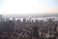 Itu adalah Sungai Hudson yang berada di samping New York