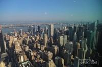 Jajaran gedung-gedung bertingkat di New York