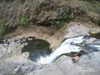 air terjun triban 1 dari atas