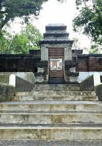 Gapura yang khas arsitektur Jawa