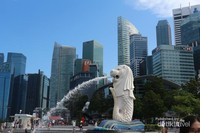 Destinasi wajib di Singapore, Patung Merlion