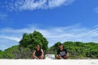 Selamat datang di Gusung Lalungan, Spot Snorkeling dan panoramanya yang indah.
