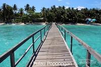 Pulau Popoongan Home Sweet Home bagi wisatawan.