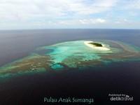 Pulau Anak Sumanga yang ter-instagramable se Balabalagan.