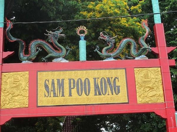 Pintu gerbang Sam Poo Kong