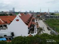 Museum Bahari dilihat dari atas Menara Syahbandar, bagus ya!