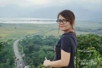 Panorama pegunungan, Rawa Pening, dan kelokan jalan yang terkenal di Eling Bening