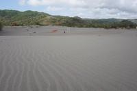 Gumuk pasir terbentuk dari pasir yang menumpuk dalam jumlah besar dan dipengaruhi oleh angin