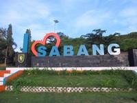 Tugu I Love Sabang, melambangkan kecintaan terhadap Kota Sabang